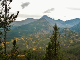 Longs Peak in Fall