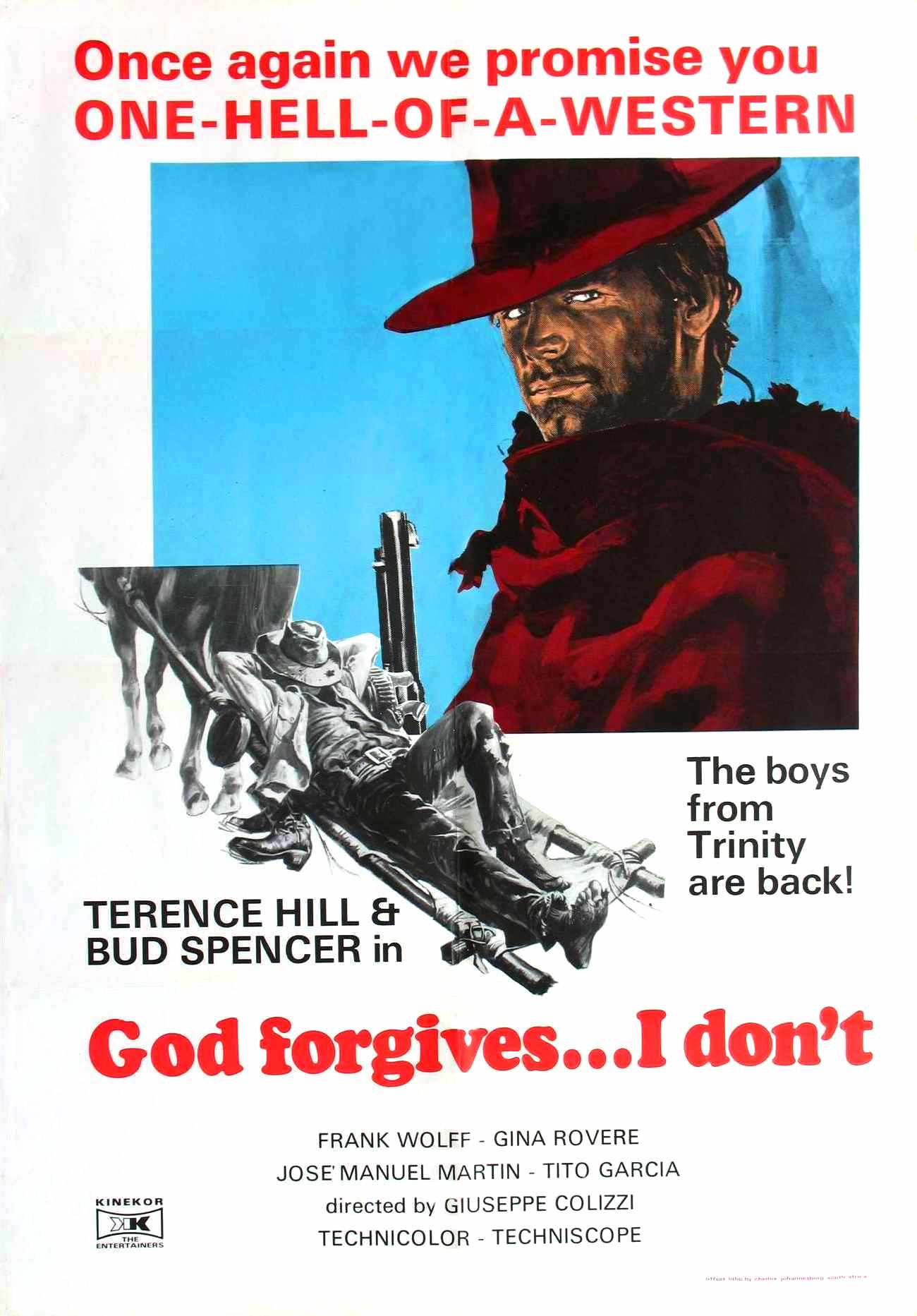 God Forgives... I Don't! (1967)