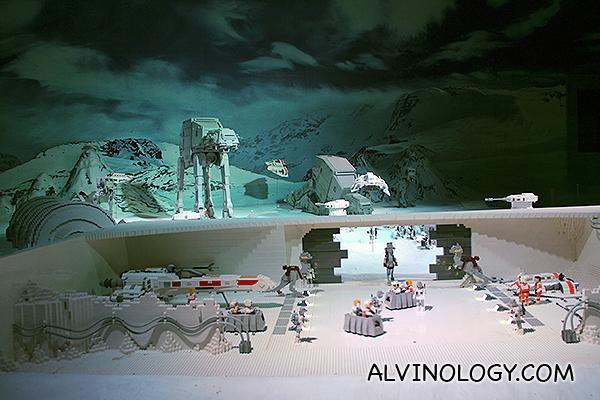 Scene from Star Wars Episode V: The Empire Strikes Back