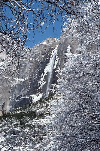 Yosemite Falls, January 1993