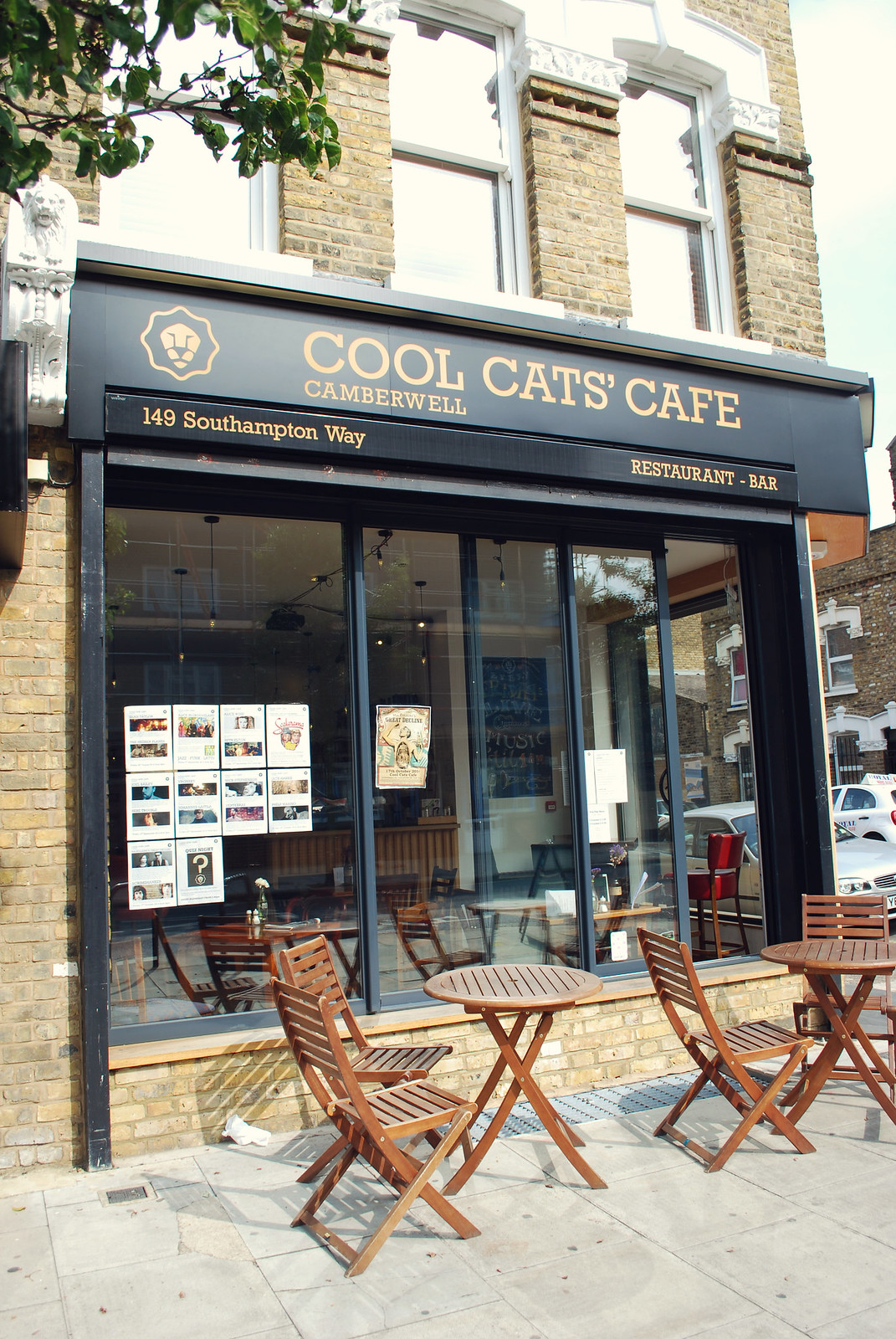 cafe review london