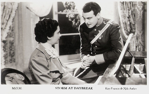 Nils Asther and Kay Francis in Storm at Daybreak