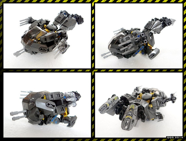 Raptor Mk.I. - Spaceship (44022 alternative model)