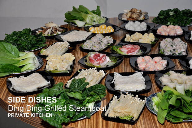 Private Kitchen Ding Ding Drilled Fish Steamboat 3