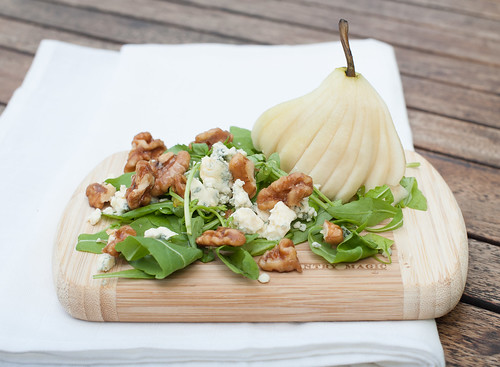 Pear, Blue Cheese & Candied Pecan Salad