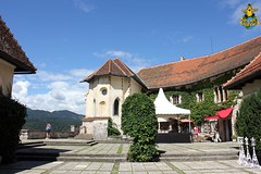 Bled Castle: Upper courtyard