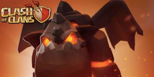 Clash of Clans: Lava Hound Troops