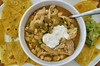 Mmm... chicken chili with white beans