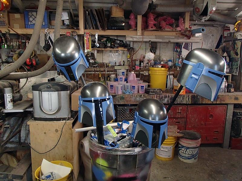 DW Helmets Weathering