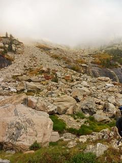 Boulderfield Between Notchtop and Little Matterhorn