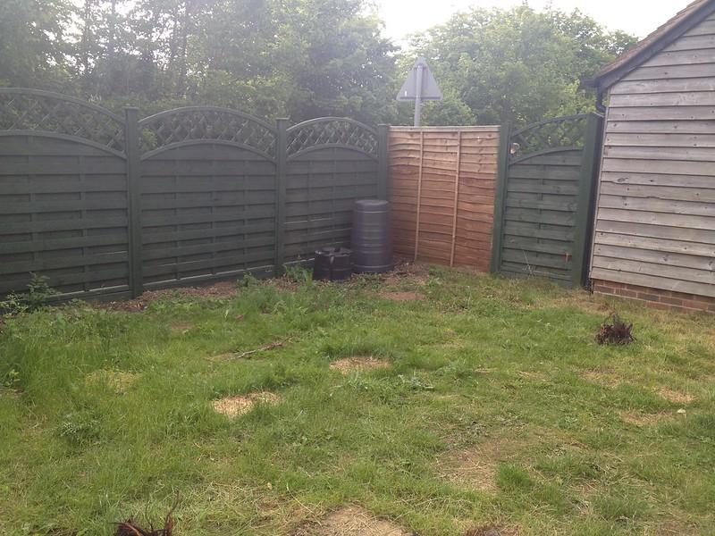 Empty garden
