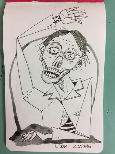 25 Inktober 2016 - Zombie