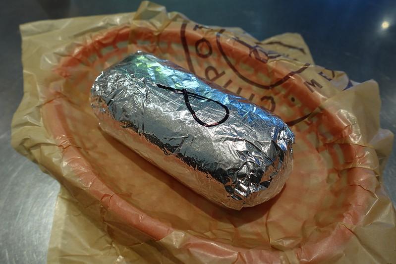 Burrito @ Chipotle @ Saint-Germain-des-Près @ Paris