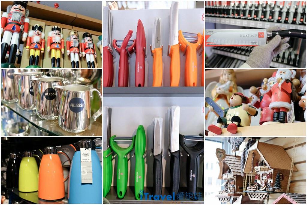 《法兰克福购物血拼》Die Schaulade Frankfurt GmbH 德国必买好物专卖店,一次败入Wüsthof三叉牌、Victorinox瑞士维氏厨刀具。