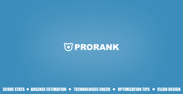 ProRank v1.0.2 - Analyzer stats website