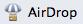 10 commandes terminal exotiques: Airdrop