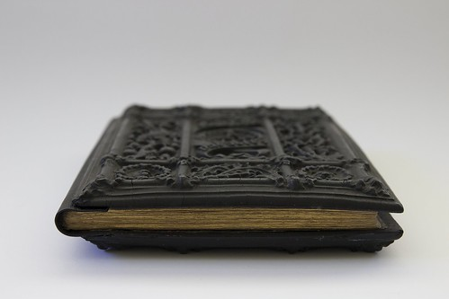 Papier-mache binding by Henry Noel Humphreys of 'Parables of Scripture'