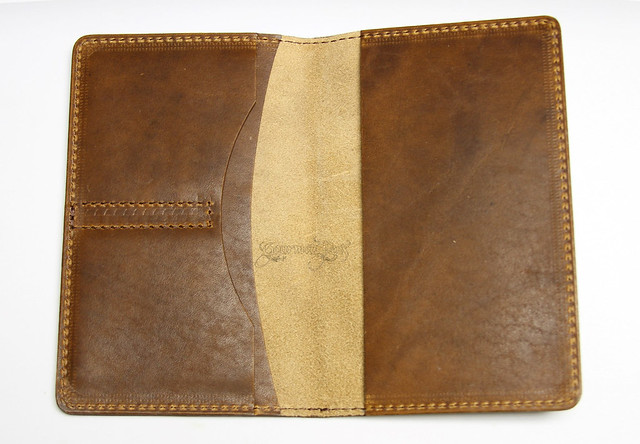 Review: Mitchell Leather Horween Dublin Journal Covers - Standard & Deluxe @MitchellFactory