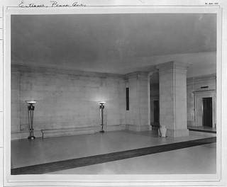 Photograph of the Pennsylvania Avenue Lobby , 01/11/1935