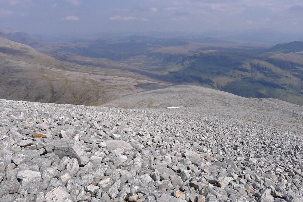 Sgurr Ban's northeast ridge