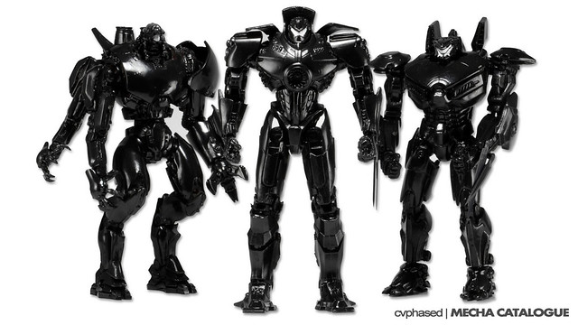 "SDCC 2014 Exclusive - Pacific Rim ""End Credits"" Set"