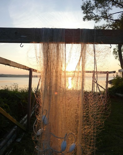 sunset reflection net fishing nautical thumbsup hjarbæk 15challengeswinner challengefactorywinner thechallengefactory herowinner