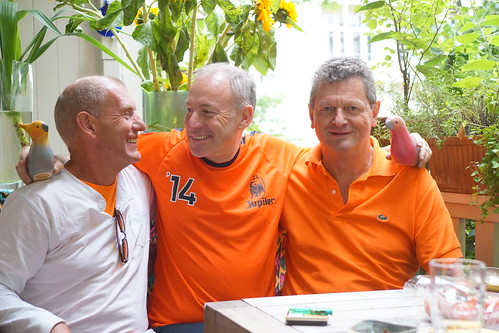 Three for Oranje