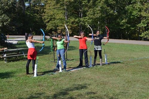 Archery at Bear Creek Lake State Park
