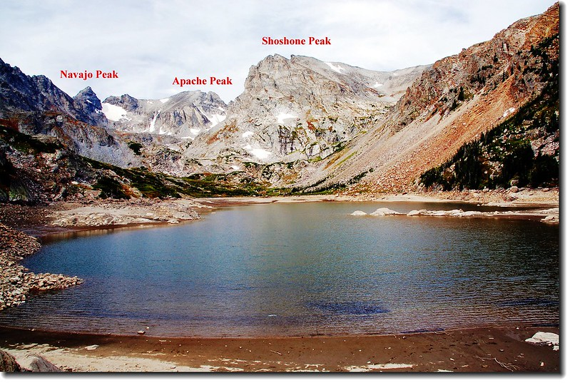 Navajo, Apache, and Shoshone from Lake Isabelle 1