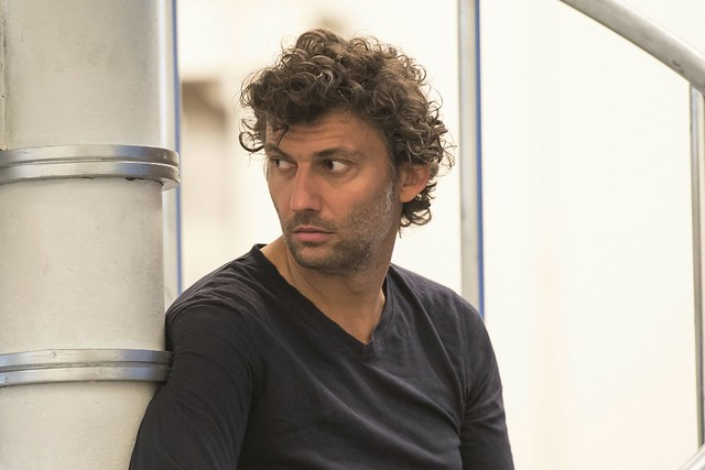 Jonas Kaufmann in rehearsal for Manon Lescaut, The Royal Opera © ROH/Bill Cooper, 2014