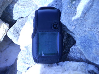Summit GPS on Mt Ouray