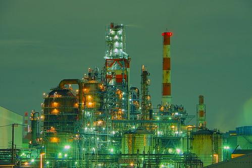 Nightscape at Kawasaki Industrial Zone 28