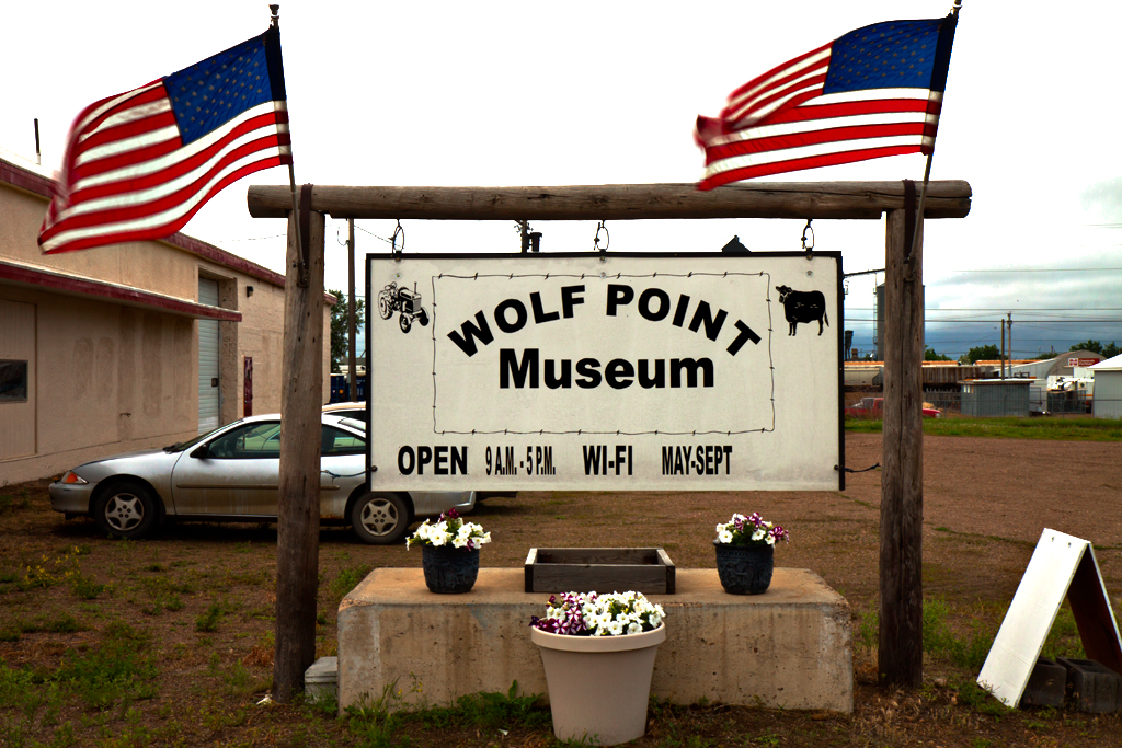 Museum--Wolf-Point