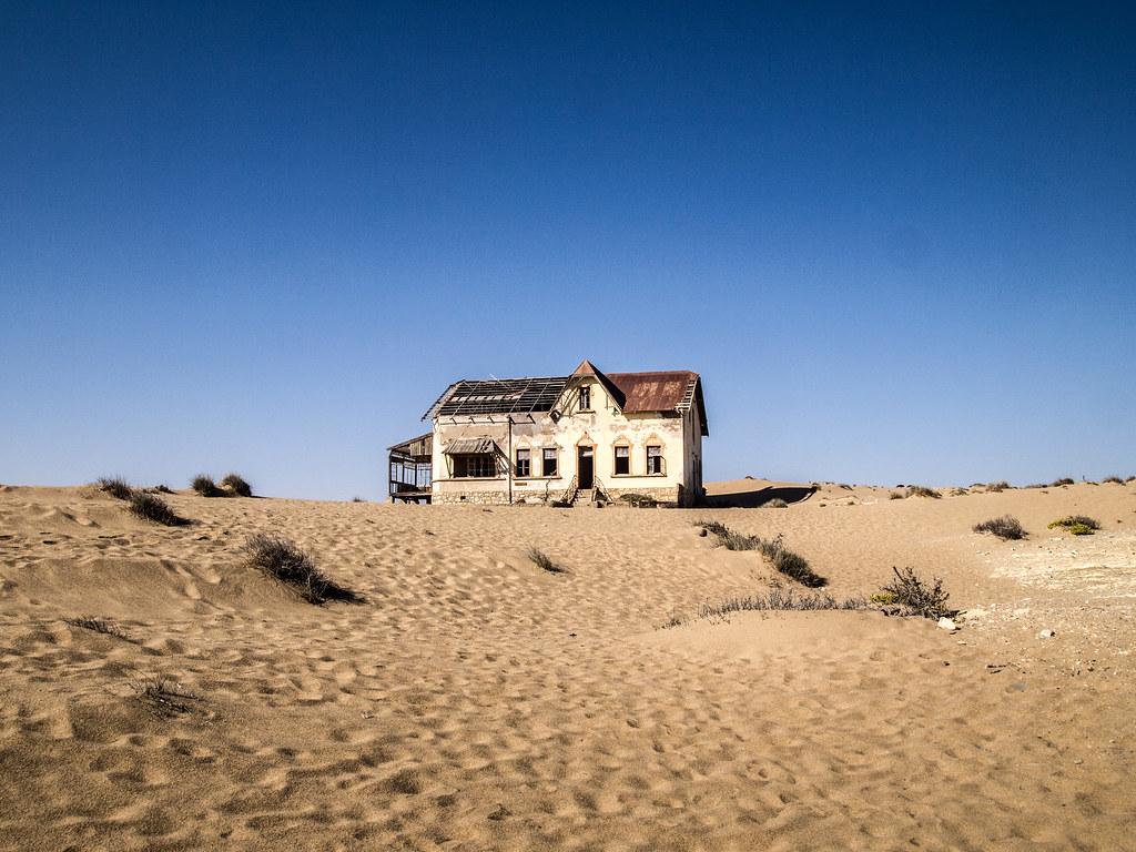 Kolmannskuppe, Luderitz, Namibia
