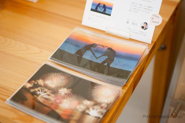 桃李写真展示 ポストカード販売
