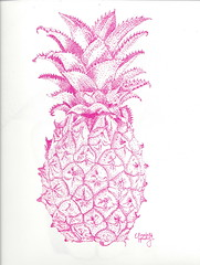 Pineapple Dot Stipple