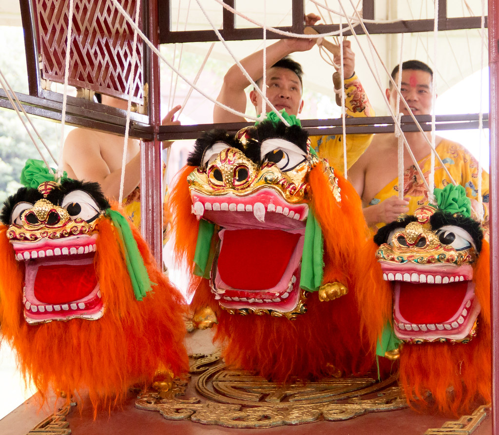 Dragon-Lion Cart Performance