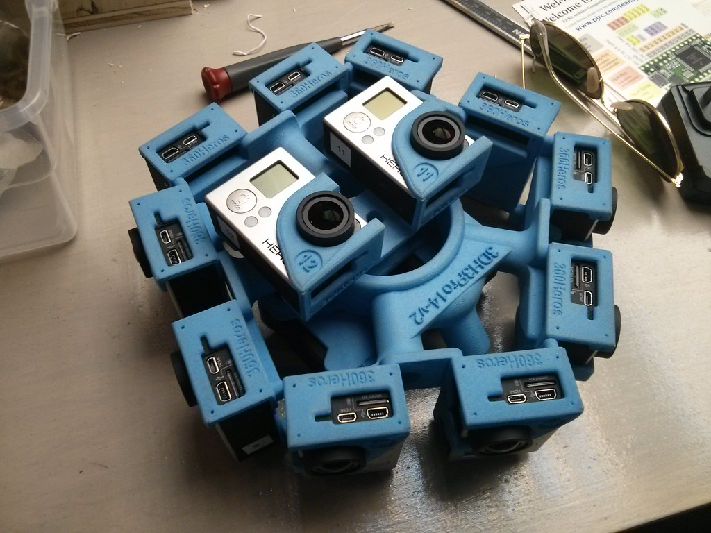 3D GoPro rig