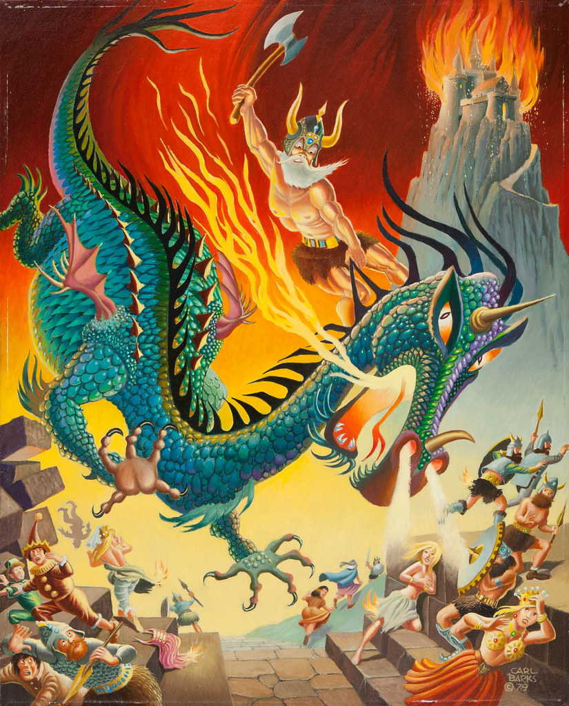 Carl Barks - King Beowulf, 1978