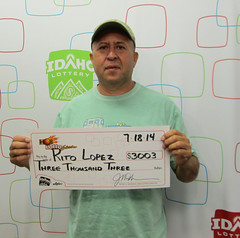 Rito Lopez - $3,003 Hot Lotto