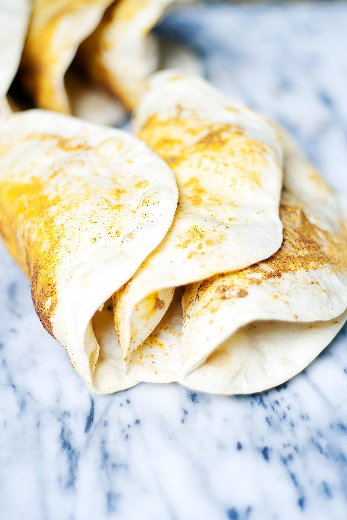 Homemade Doritos Taco Shells