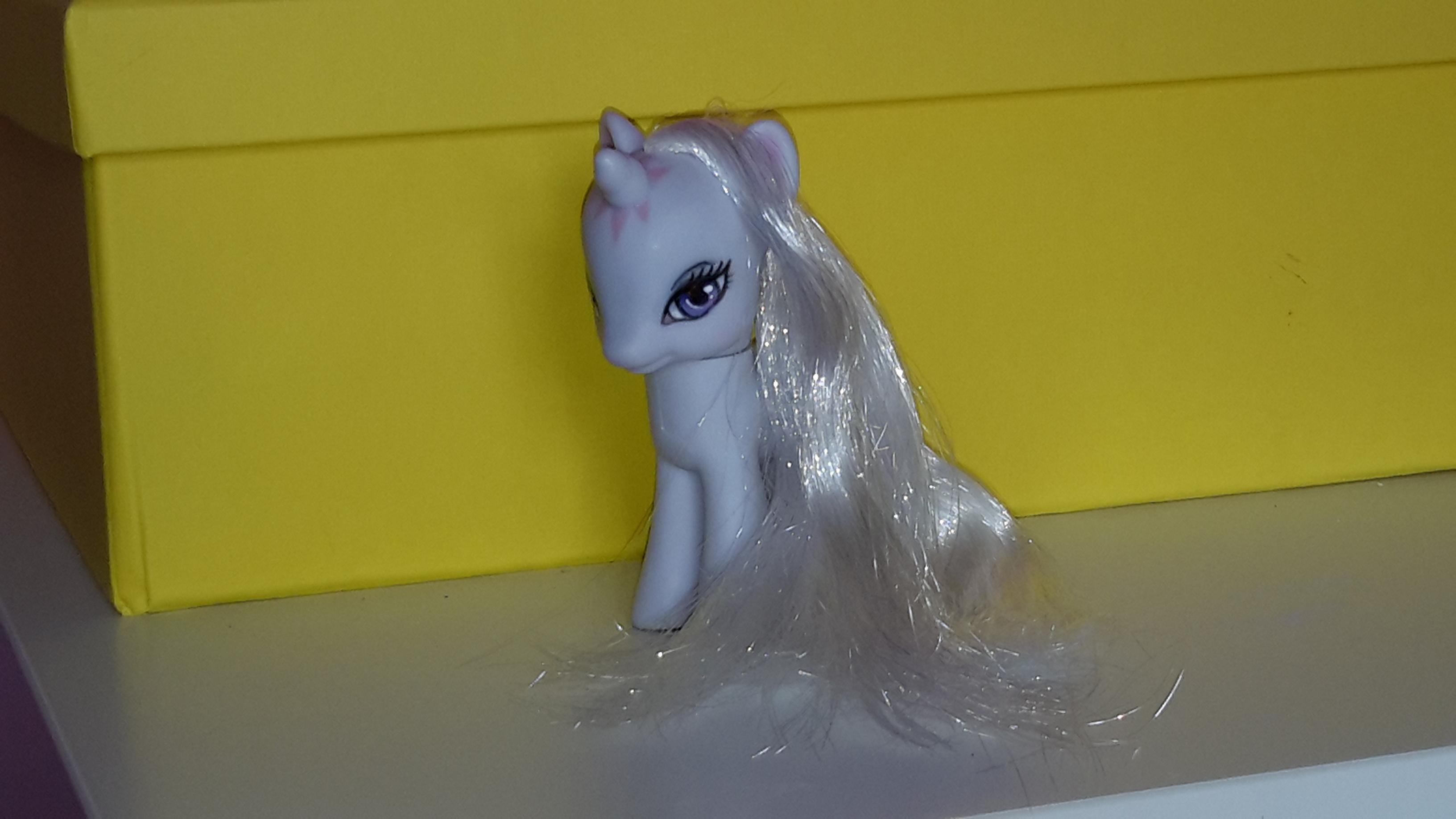 Another shot of my Last Unicorn inspired pony