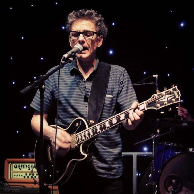 One last picture before I crawl off to bed. Dean Wareham at @indietracks