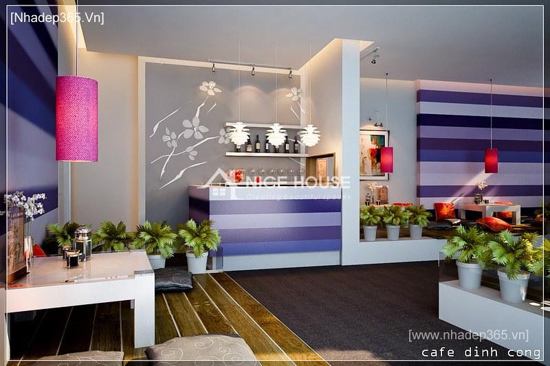 Nội thất quán cafe Định Công - HN_3