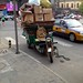 Beijing Cargo eBike, loaded with cardboard