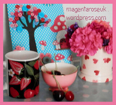 My pink and blue kitchen creations