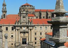 Santiago de Compostela,  Mosteiro de San Martiño Pinario
