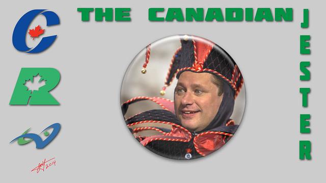 Steven-Harper-Canadian-Jester