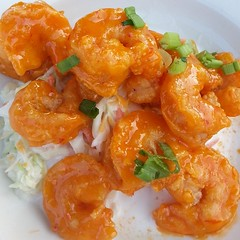 shrimp, seafood, sweet and sour, food, scampi, dish, cuisine,