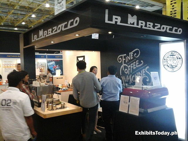 La Marzocco Espresso Machines Trade Show Booth